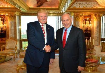PM Israel Benyamin Natanyahu dan Presiden Amerika Serikat Donald Trump.jpg